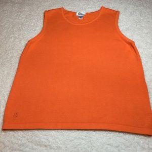 Lilly Pulitzer Lg Cotton Sweater Knit Sleeveless